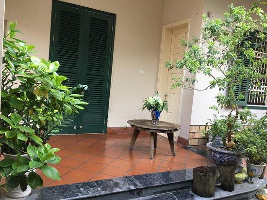 Petit jardin de Y Lan Guesthouse