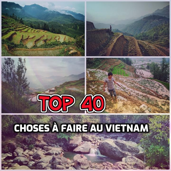 Top 40 des choses à faire au Vietnam