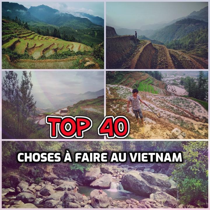 Top 40 des choses à faire au Vietnam