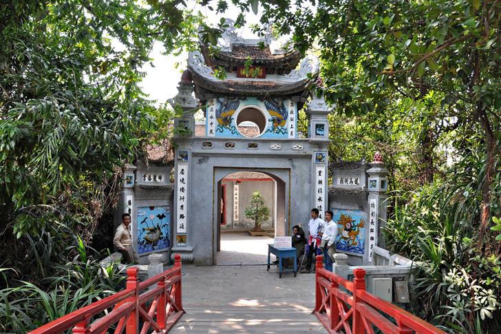 Temple Ngoc Son ( Den Ngoc Son )