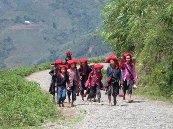 Ethnic village in Sapa