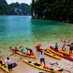 Kayaking en baie de Lan Ha, croisière hors sentiers battus