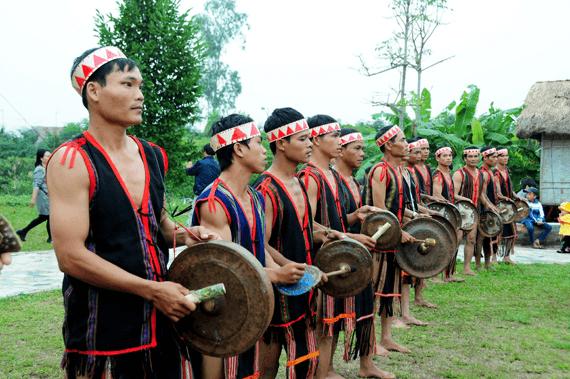 La culture des gongs du Tây Nguyên