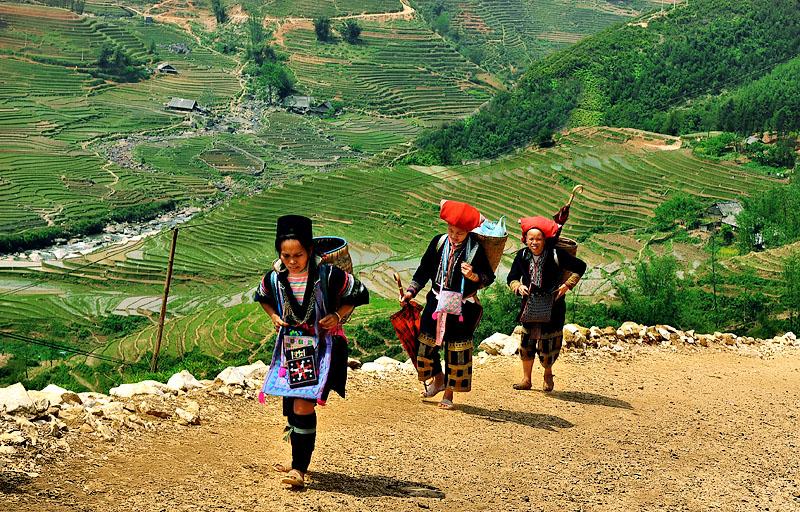 Ethnies de Sapa