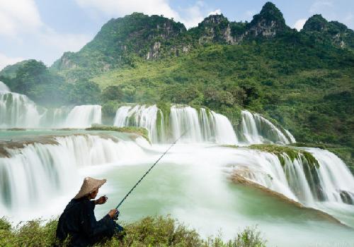 Les Chutes de Ban Gioc, Cao Bang, Incontournable au Nord Est Vietnam
