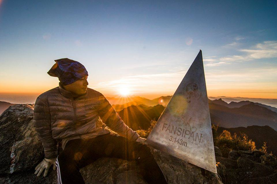 Fansipan - la plus haute montagne du Vietnam.