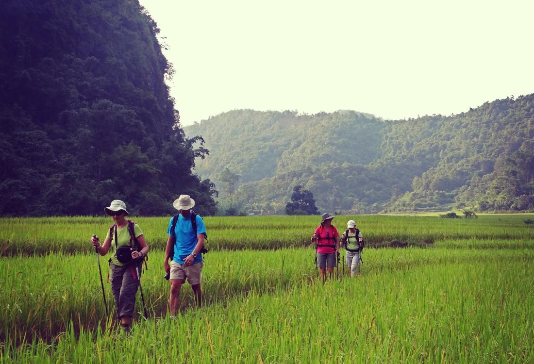 Trekking dans le parc national de Ba Be
