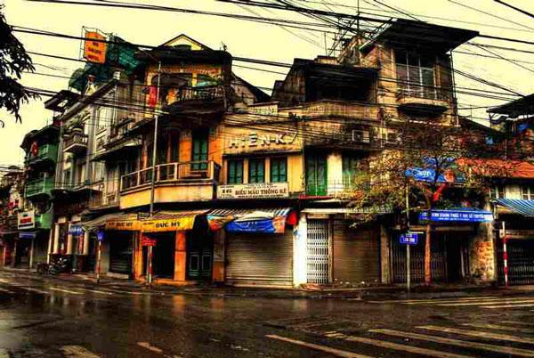Suggestions pour une visite de la vieille ville (Le Vieux quartier) de Hanoi à pied