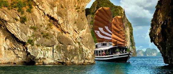 Croisière dans la baie de Lan Ha 3 jours 2 nuits, bateau privé, circuit hors sentiers battus