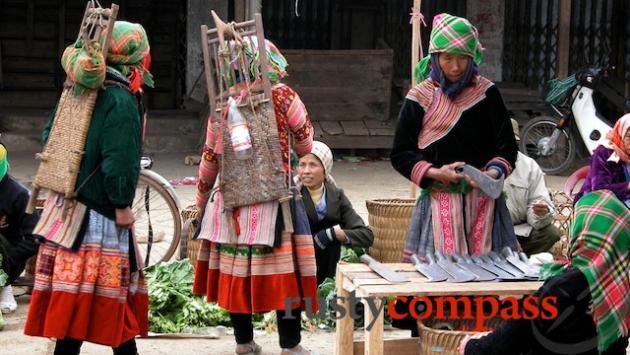 Bons Plans de Sapa, Nord Vietnam : Trekking, Motos, Villages, Marchés Hebdomadaires des Ethnies