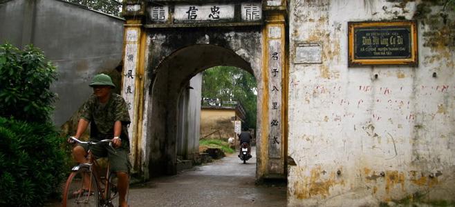 Ancien village de Cu Da, destination pour les voyages photos au Nord Vietnam