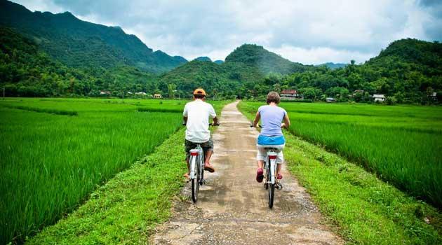 TOP 5 places pour faire un tour à vélo  à l'extérieur de HANOI