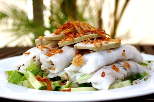 Banh Cuon ou Raviolis