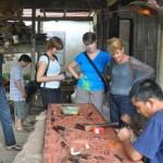 Visite du Kim Bong - Village de Menuiserie