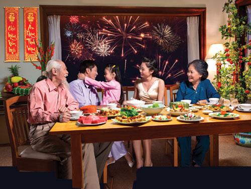 Cadeaux pour fête du Têt au Vietnam