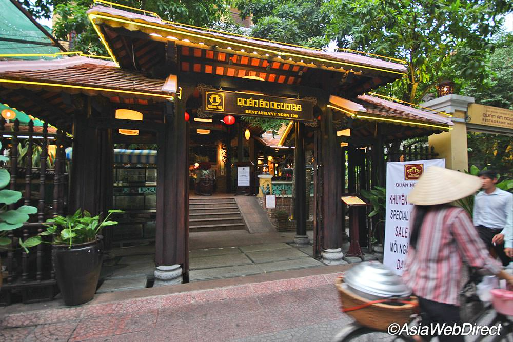 Quan An Ngon restaurant