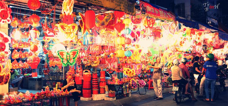 Guide voyage Ho Chi Minh-Ville : Cho Lon, district 5, quartier des chinois