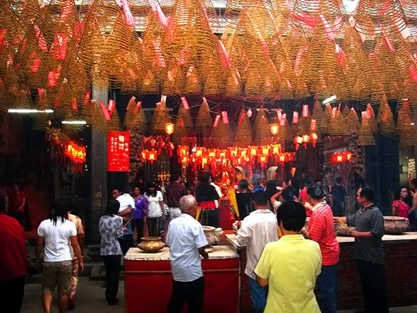 Temple chinois Saigon en Fetes