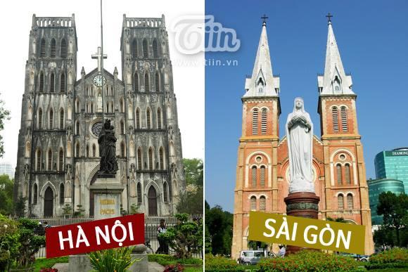 Infographie: Différence entre Hanoi et Saigon