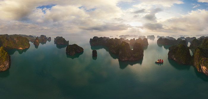 Baie d'Halong en 3 dimensions