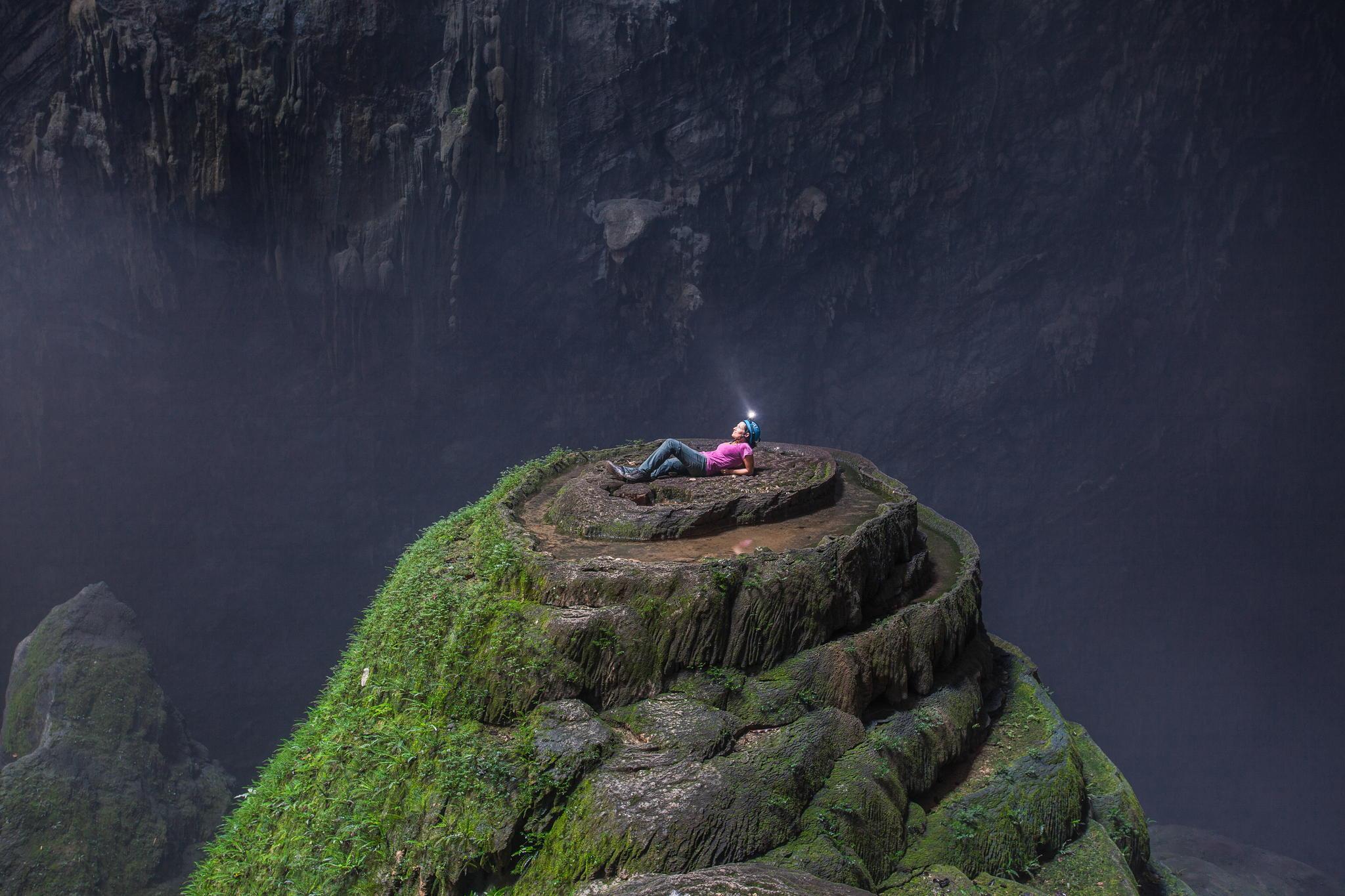 Chouette Vidéo de l'expédition dans la grotte  Son Doong