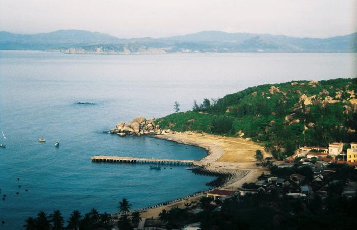Ile Xanh (Cu Lao Xanh), province de Binh Dinh