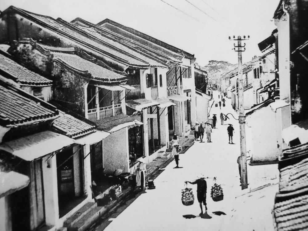 Hoi An dans les années 1930 -1950 en Noir et Blanc