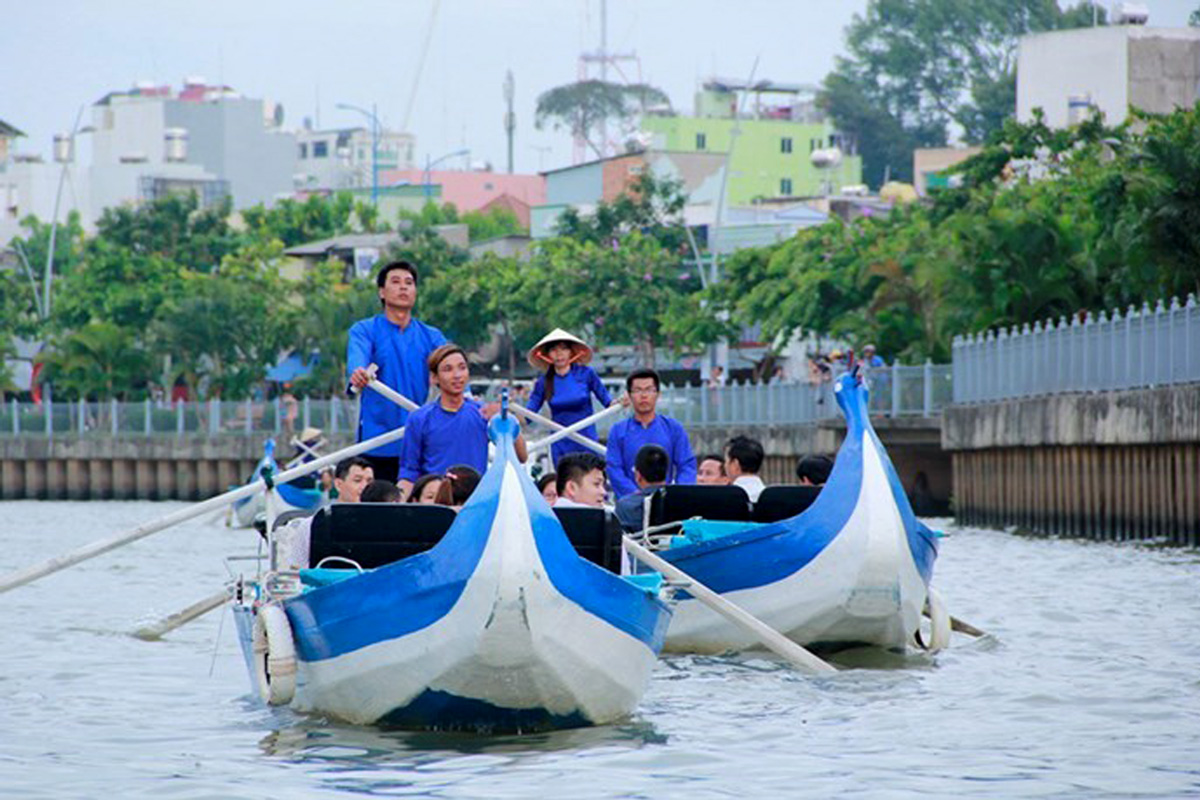 Ho Chi Minh Ville: Tour en Gondola sur le canal Nhieu Loc-Thi Nghe