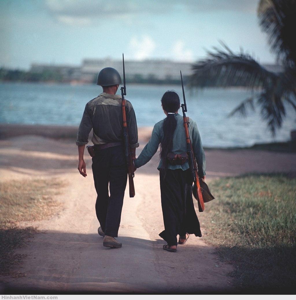 Photos en couleur du Vietnam du Nord pendant les années de guerre