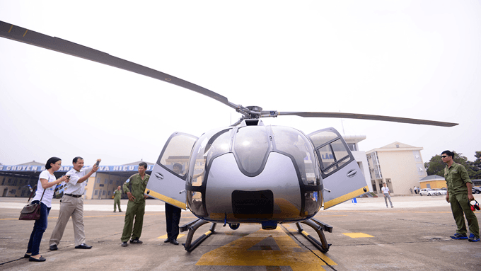 Excursion Hanoi – Sa Pa en hélicoptère 3 heures pour 9.240 dollars