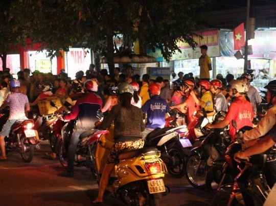 Lorsque un Vietnamien voit la violence en public, sa réaction ?