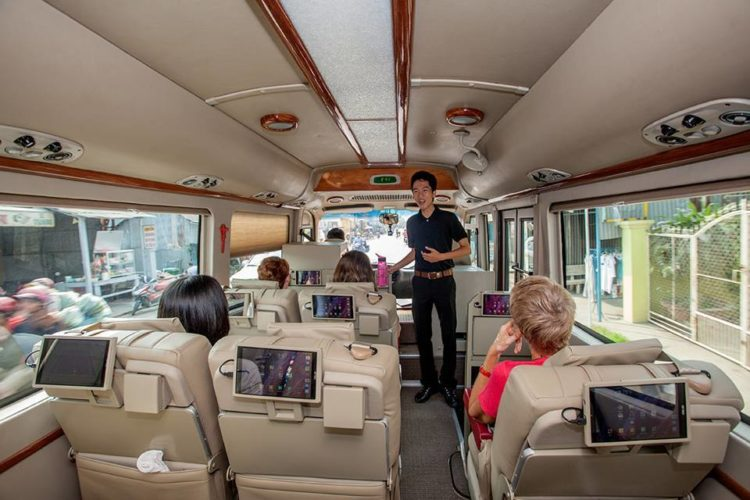 Bus de luxe Hanoi Sapa opéré par Victoria Sapa Hotel