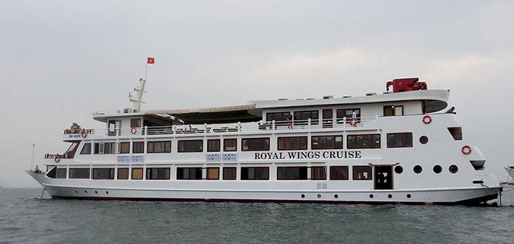 Halong 2 jours 1 nuit en Croisière de luxe Royal Wings 5* dès 150 USD / personne – Tout compris