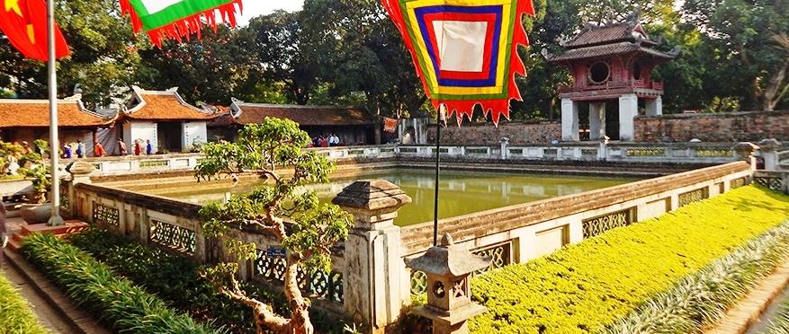 Temple de la litterature Hanoi