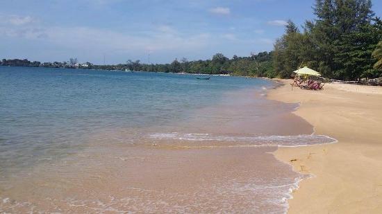 La plage de Bai Thom