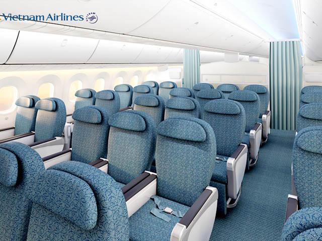 Vietnam Airlines 787 9 Premium Le Dreamliner