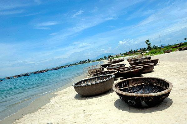 belles plages de Danang