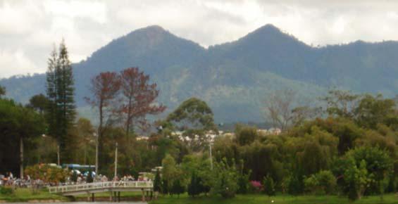 Sommets de Montagne Langbiang