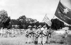 Vietminh, histoire , naissance, organisation , chefs