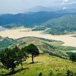 Vue de Sommets de Montagne Langbiang