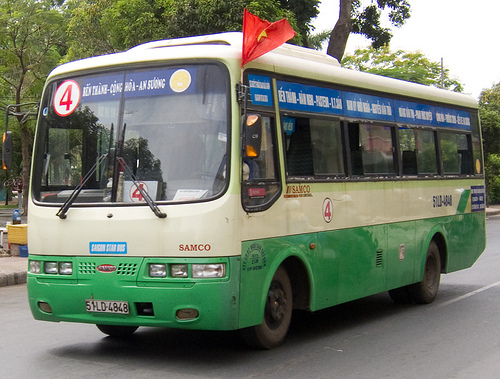 Visiter Ho Chi Minh Ville en bus public