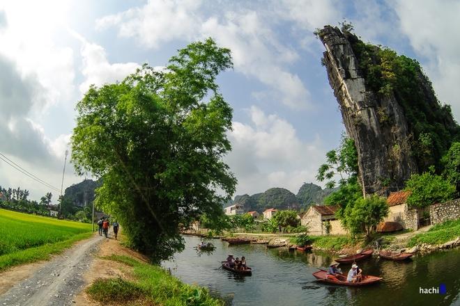 Paysages de Ninh Binh, région de la baie d'Halong terrestre en photos