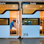Boîtes à dormir gratuites à l'aéroport de Noi Bai