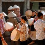 Non La - Chapeau conique Vietnamien