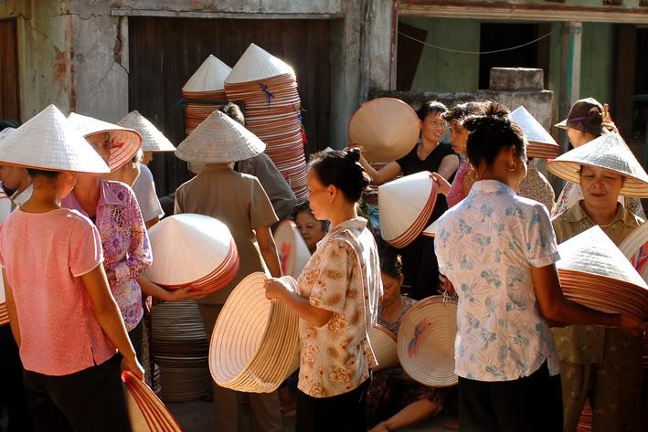 Non La – Chapeau conique Vietnamien