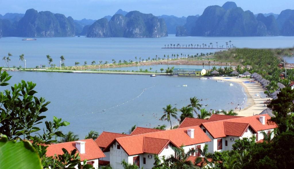 Plage sur l'ile de Tuan Chau