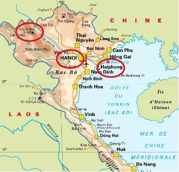 une semaine nord Vietnam