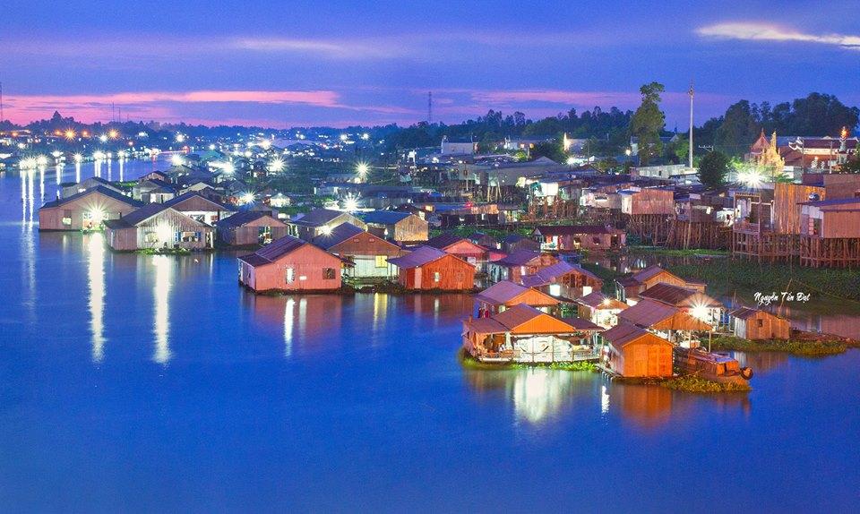 Chau Doc, An Giang, Delta du Mekong