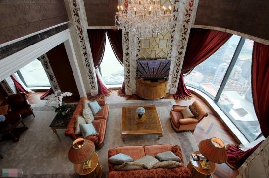 Les chambres d'hôtel les plus chères au Vietnam: 400 millions  VND / nuit