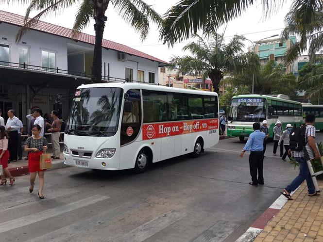 Voyager autour de Saigon en bus